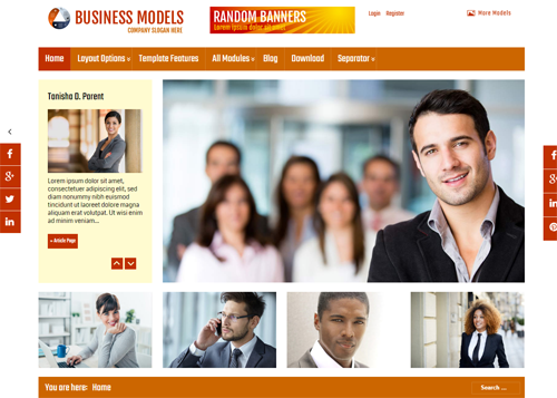 Businessmodels - Joomla Template