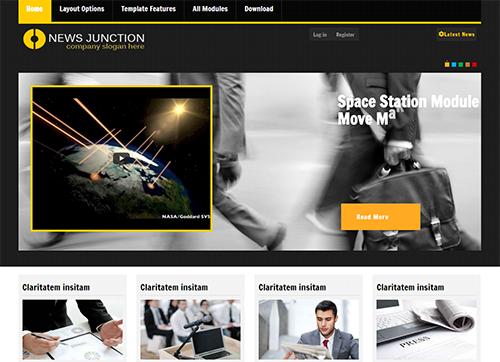 Newsjunction - Joomla! Template