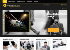 Newsjunction - Joomla! Template