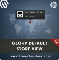 Magento GeoIP Store Switcher Dropdown Extension by FME