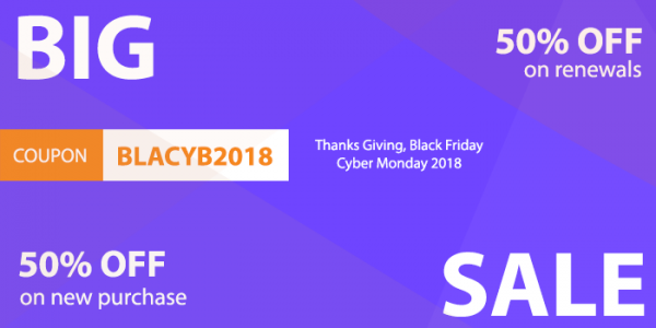 Black Friday & Cyber Monday Deals on 2018