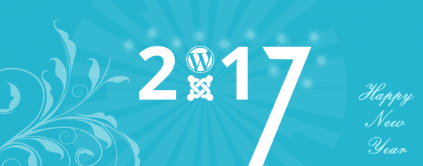 New Year 2017 Joomla and WordPress Coupon