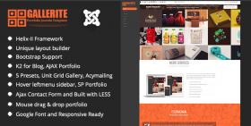Gallerite - Joomla Photo Gallery Template