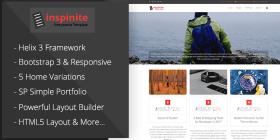 Inspinite - Free Joomla Blog Template