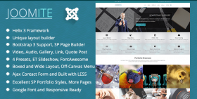 Joomite - Business Joomla Template