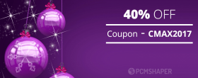 Christmas 2017 Discount - 40% OFF Joomla Coupon