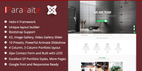 Parallaite - Multipurpose Joomla 3.4 Template