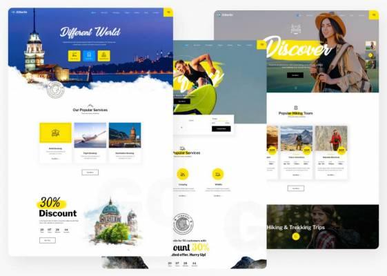 JD Berlin - Modern Travel Agency Joomla Template