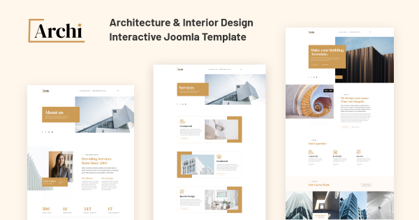 JD Archi - Architecture & Interior Design Template - 60% Discount