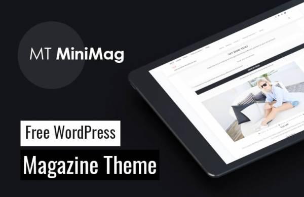 MT MiniMag - Free WordPress Magazine Theme