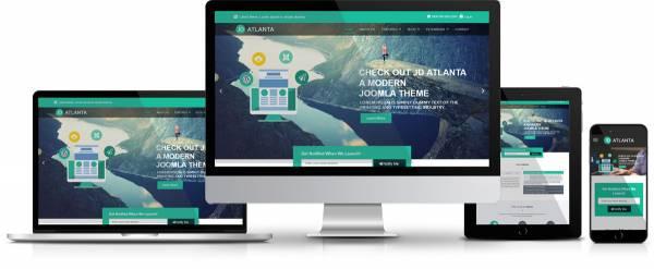 JD Atlanta – Ultimate Free New Joomla 3.5.1+Template
