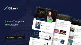 JD LawX - Law Business Joomla Template
