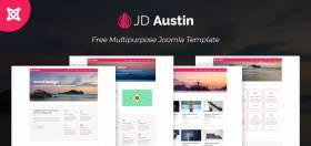 JD Austin - Free Business Joomla Template