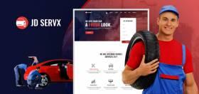 JD ServX - Auto Service Center Joomla Template