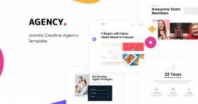 JD Agency - Creative Agency Joomla Template