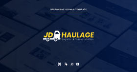 JD Haulage - Logistic & Transportation Services Joomla Template