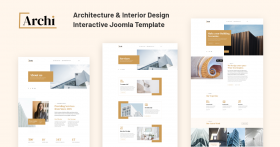 JD Archi - Architecture & Interior Design Template - 60% Discount