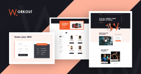 JD Workout - Gym & Fitness Joomla Template with Online Store