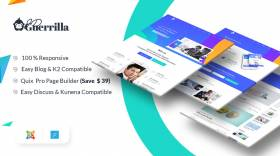 JD Guerrilla - Digital Marketing Agency Joomla Template