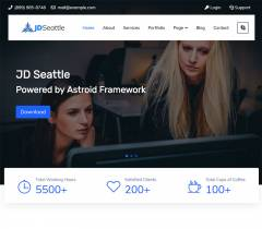 JD Seattle -Free Joomla Template is now fully ecommerce based with Sellacious