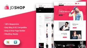 JD Shop - Ecommerce Joomla Template