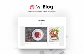 MT Blog - Free WordPress Blog Theme for Bloggers