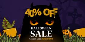 Helloween Hunting - Save Flat 40% on Joomla Templates and Club Membership Plans