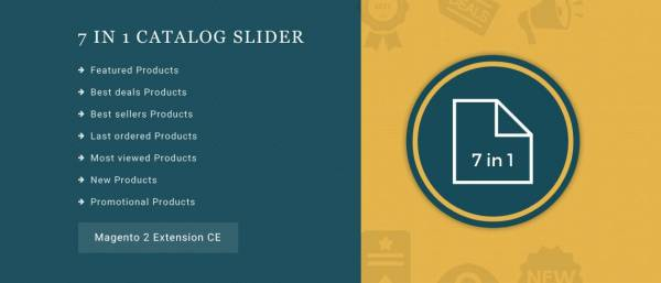 7 in 1 Catalog Slider Magento 2 Extension