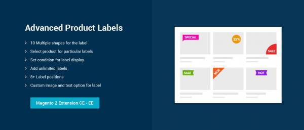 Advanced Product Labels – Magento 2 extension