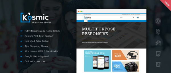 Kosmic – Multipurpose WordPress Theme