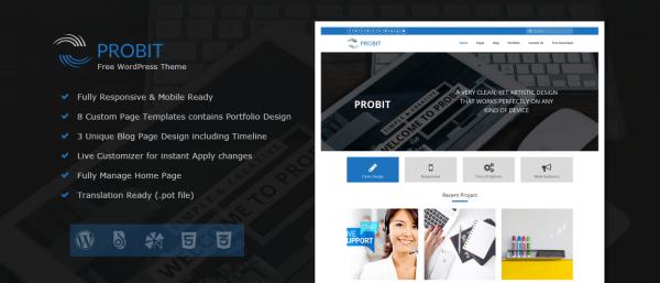 Probit – Professional WordPress Theme