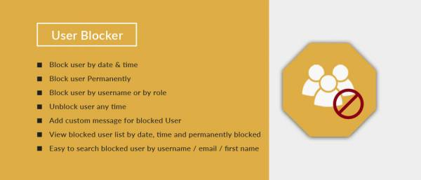User Blocker WordPress Plugin