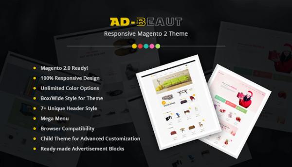 Ad-Beaut - Multipurpose Magento 2 Theme