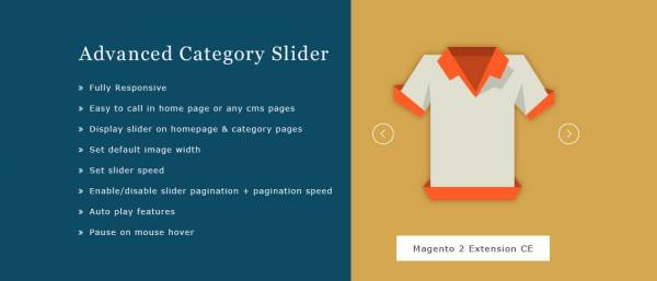 Advanced Category Slider Magento 2 Extension