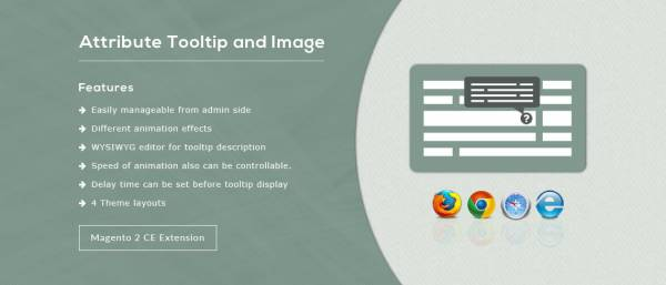 Attribute Tooltip and Image – Magento 2 Extension