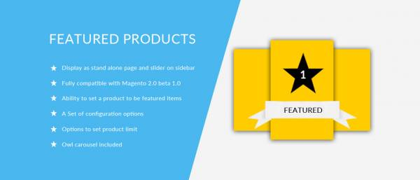 Featured Products – Magento 2 Extension