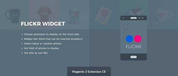 Flickr Widget - Free Magento 2 Extension