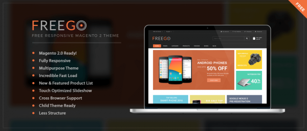 FreeGo - Free Magento 2 Theme