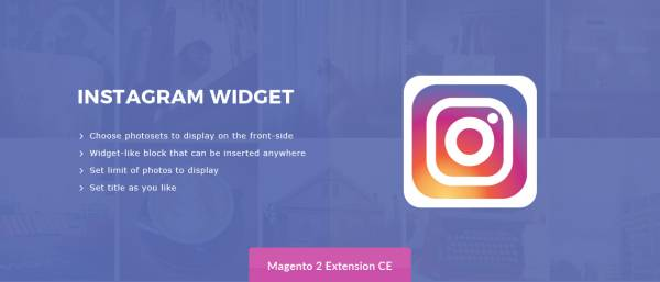 Instagram Widget – Magento 2 Extension