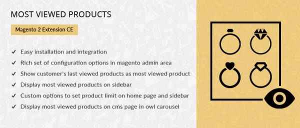 Most Viewed Products – Magento 2 Extension