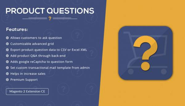 Product Questions – Magento 2  Extension