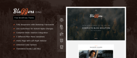 Bloggers Lite – Free Responsive WordPress Blog Theme