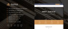 Justica – Lawyer WordPress Theme