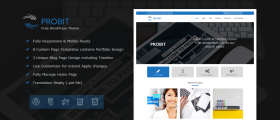 Probit – Professional WordPress Theme