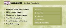 WC Checkout Fields Editor WordPress Plugin