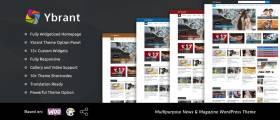 Ybrant – News & Magazine WordPress Theme