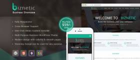 Biznetic - WordPress Business Theme