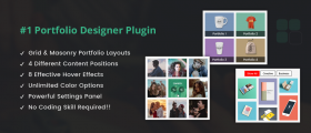 Portfolio Designer Lite – WordPress Plugin
