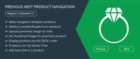 Previous Next Product Navigation – Magento 2 Extension