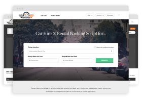 Developing a Vehicle Rental Platform using a Ready-made Car Rental Script